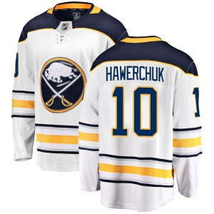 Dale Hawerchuk Youth Fanatics Branded Buffalo Sabres Breakaway White Away Jersey